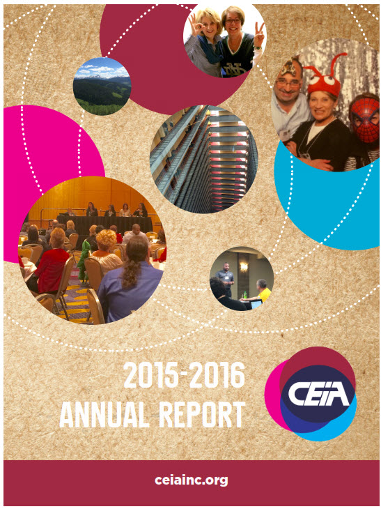 CEIA Annual Report 2015-16 FULL Cover